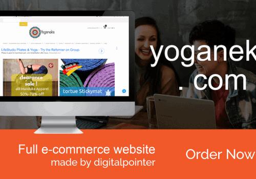 Website Yoganeka.com Oleh Digitalpointer.asia