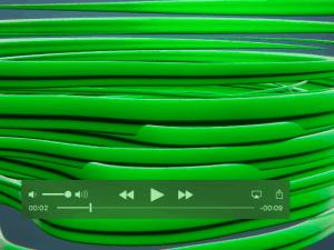 jasa pembuatan video - swirling video intro